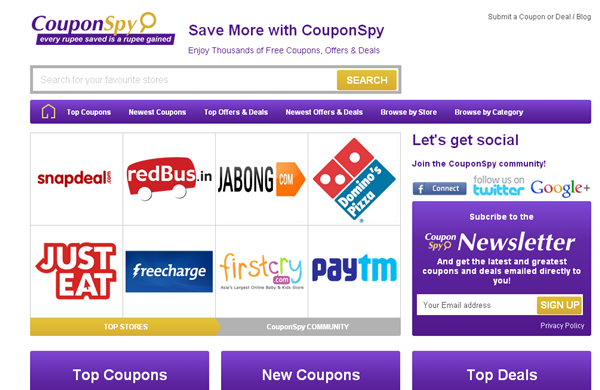 Coupon-Website-Review