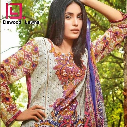 Dawood Aalishan Chiffon Lawn Vol-4 Collection 2014