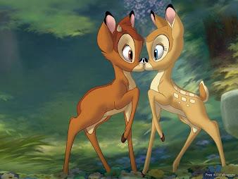 #3 Bambi Wallpaper