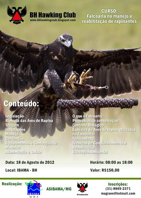 Curso de falcoaria no manejo e reabilitação de Rapinantes Ibama2012+(2)