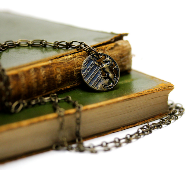 Unicorn Necklace from late 19th century #unicorn #1800s #jewelry