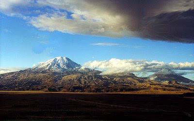 montaña en donde está el arca de noé