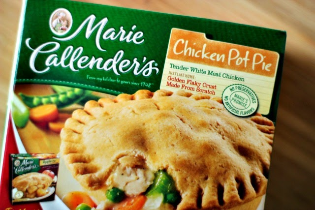 Marie Callender's Pot Pie & Peppermint Cheesecake #EasyAsPotPie #Ad