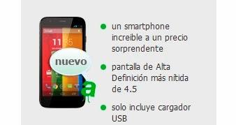 Motorola Moto G con AMENA