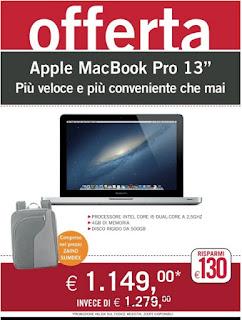 Offerta MacBook Pro 13''