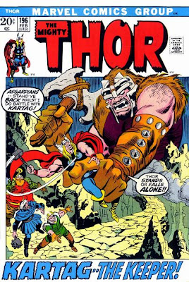 Thor #196, Kartag