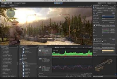 Unity 3D Pro 4.0.1
