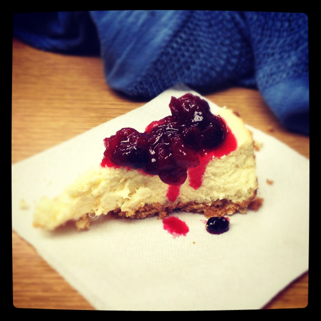 Lemon Goat Cheese Cheesecakes With Blood Orange Sauce Recipes ...
