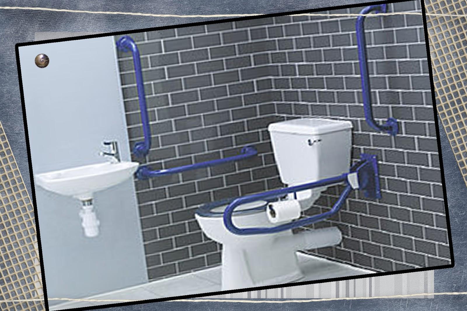 Os assentos dos vasos sanitáriostem que estar a uma altura de 46cm  #796D52 1600 1067