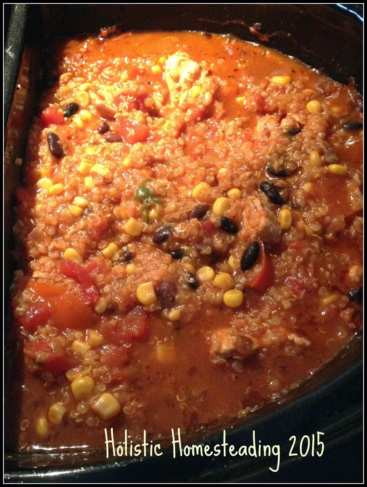 Quinoa Chilli