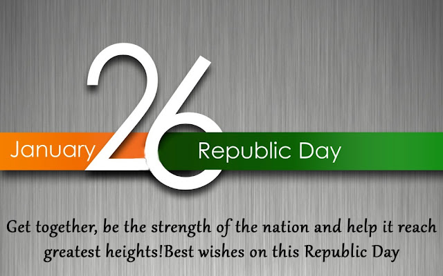 Republic Day Whatsapp Staus SMS Shayari Quotes Slogans 2016