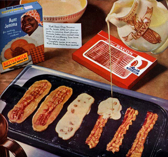 and another breakfast recipe from bacon today bacon pancakes