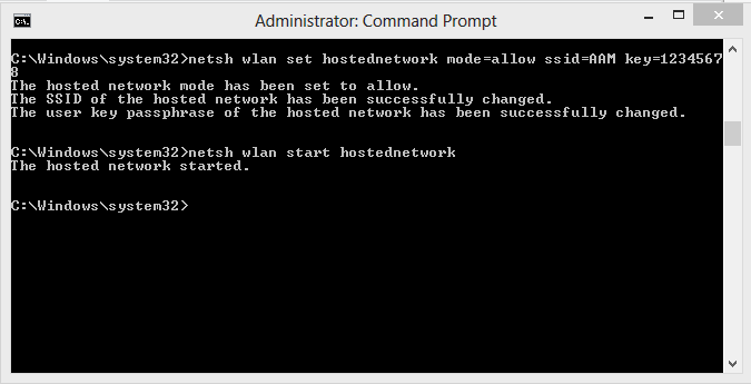 Cara membuat jaringan Ad Hoc di windows 8 atau 8.1