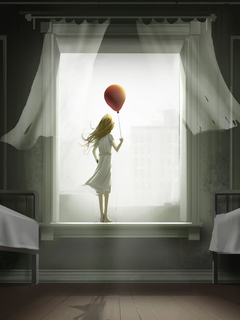 Come Fly with Me -- Pige med ballon i vindue