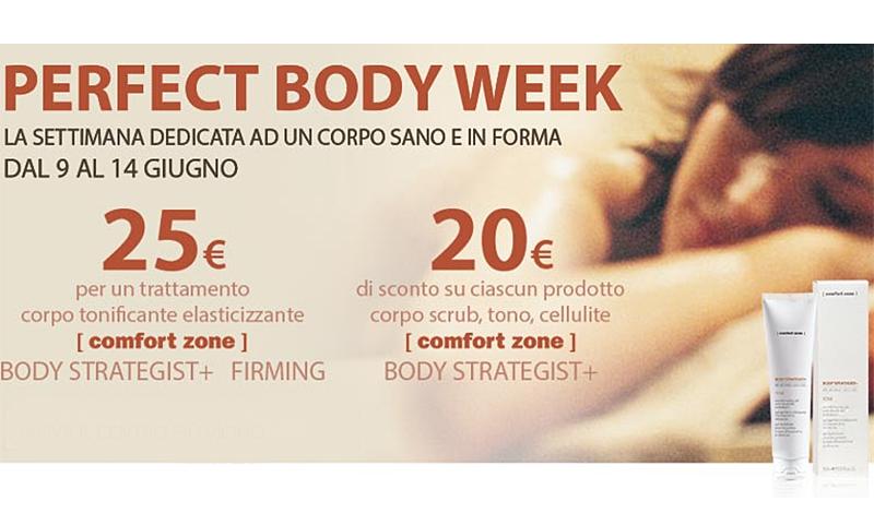 Perfect Body Week Comfort Zone Giugno Body Strategist