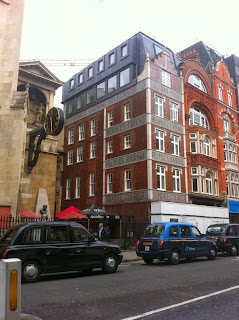 Former newspaper offices, Fleet Street, London