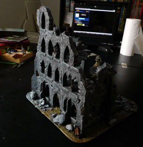 PinAtWar: Zniszczona kaplica – krok po kroku // Ruined chape...