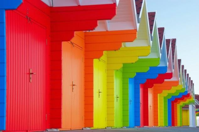 ciudades coloridas