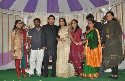 Navya Nair Wedding Reception Pictures