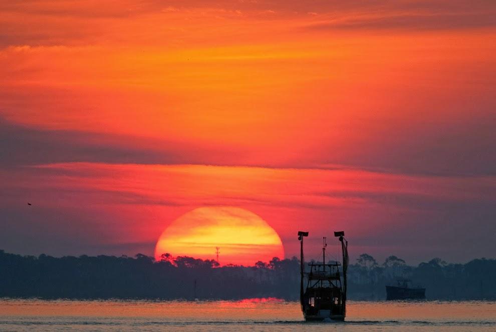 Perdido Bay Alabama.