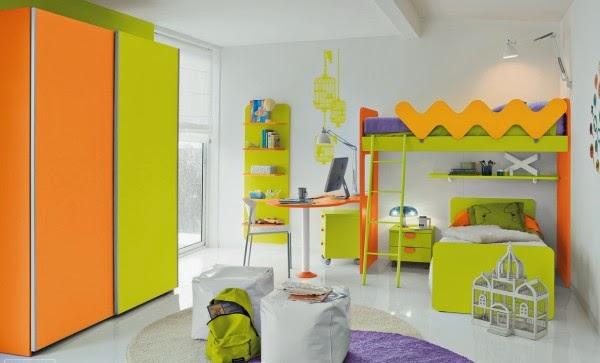 4168 صور اثاث غرف نوم اطفال و شباب مودرن   صور ديكورات و حوائط غرف نوم حديثة
