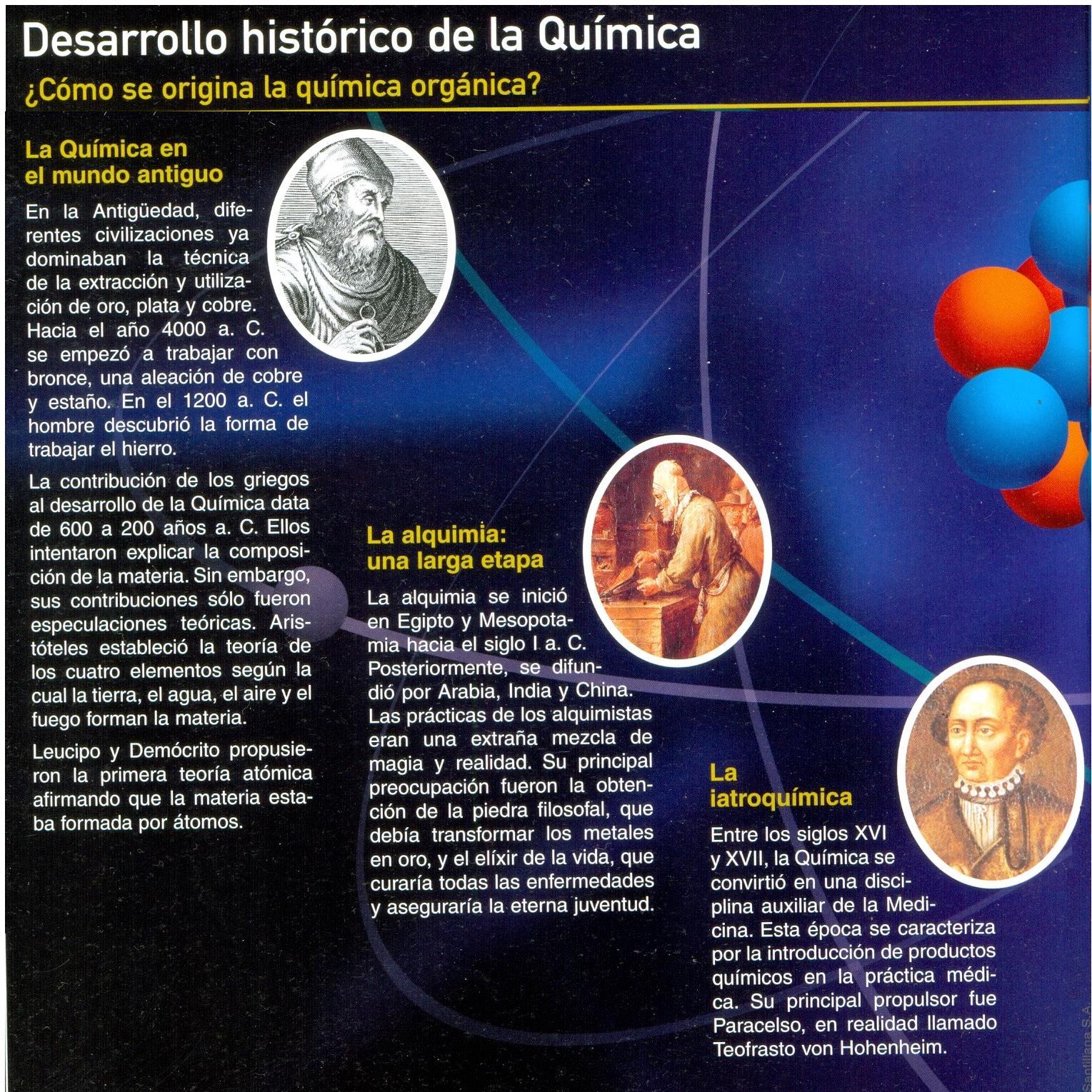 Qumica fsica 2do proyecto 2014 breve historia de la quimica breve historia de la quimica urtaz Gallery