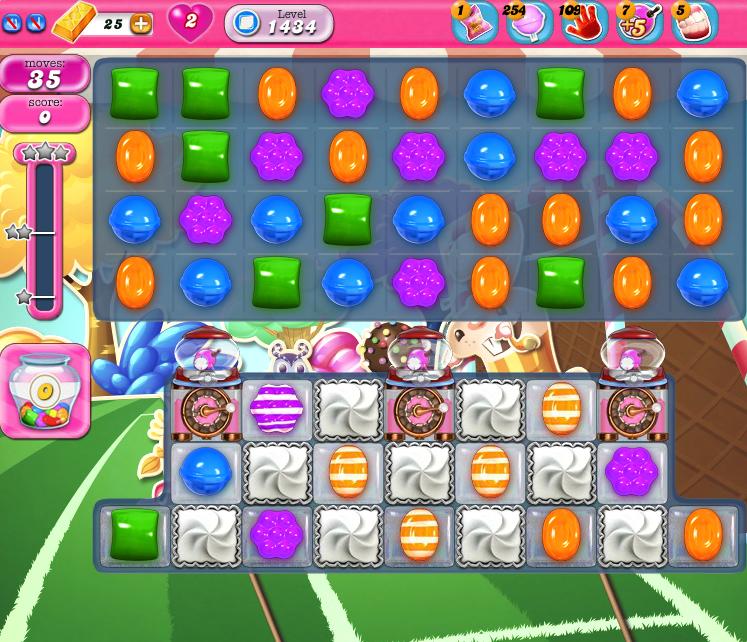 Candy Crush Saga 1434