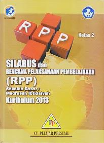Toko Buku Rahma Silabus Dan Rpp Sd Mi Kurikulum 2013 Kelas 2