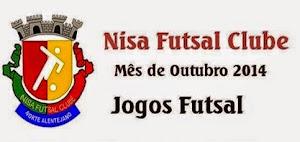 NISA FUTSAL CLUBE: CALENDÁRIO DE JOGOS EM OUTUBRO