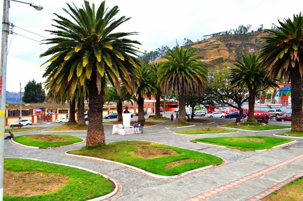 Parques turísticos de Guaranda Parque 9 de Octubre
