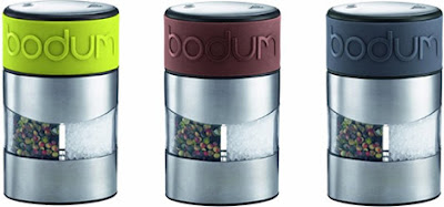 Space Saving Ideas For Home - Bodum Twin Salt and Pepper Grinder