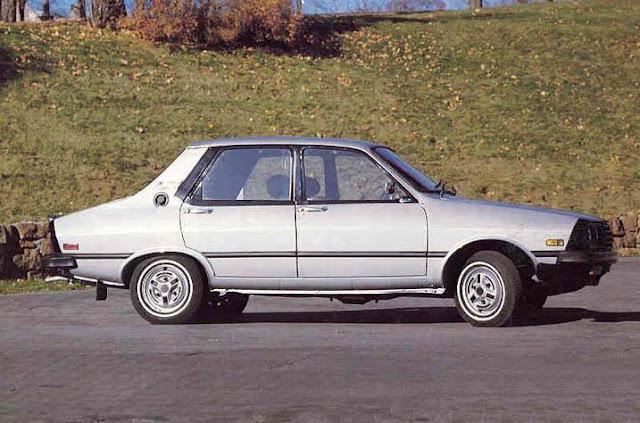Dacia 1310 side view