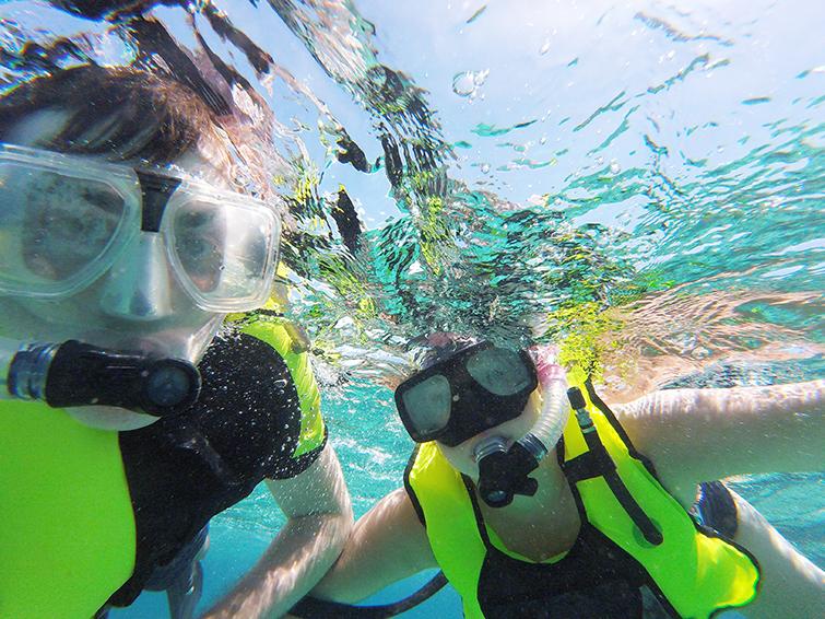 Snorkeling in St. Croix