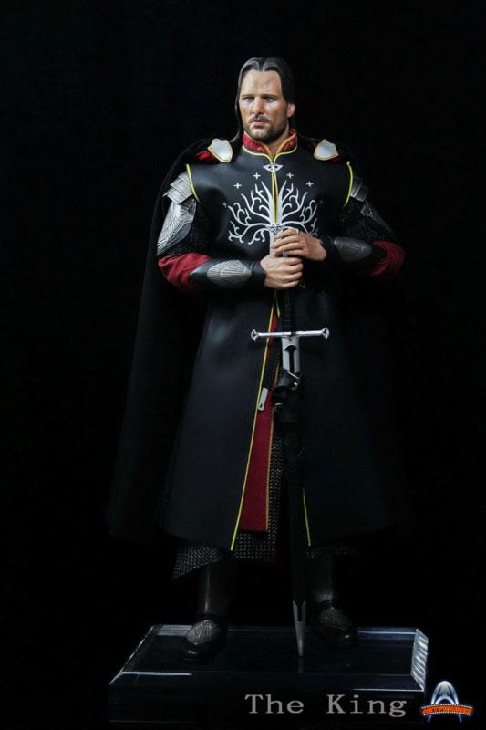 [ART-FIGURES] The King OR LOTR 1/6 Aragorn King of Gondor 12-inch Figure King-002