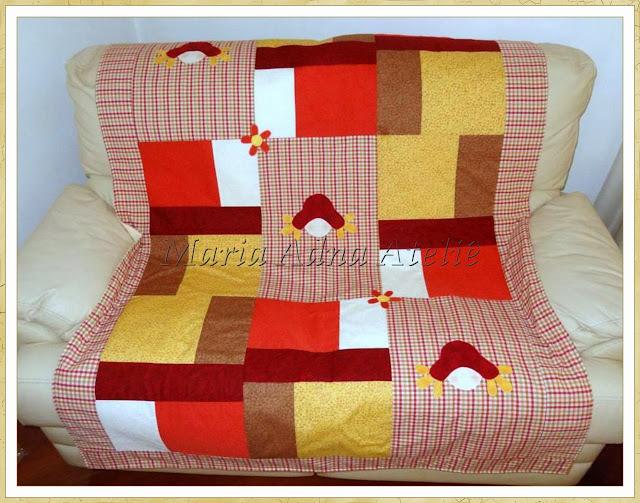 Manta, Manta sofá, Manta patchwork, Manta apliquê, Manta patchwork apliquê, Patchwork, Apliquê
