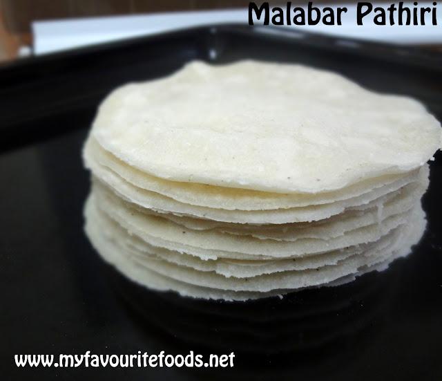Rice Pathiri / Malabar Pathiri