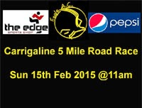 5 mile race in Carrigline nr Cork City