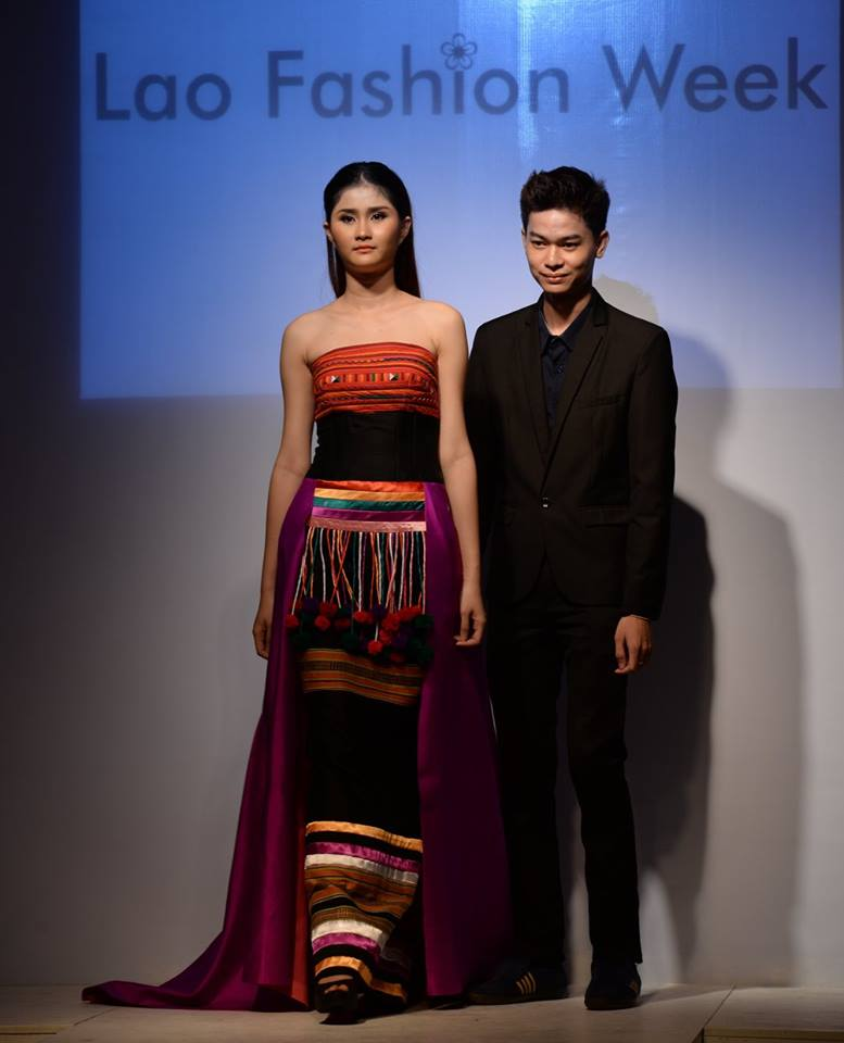 Lao fashion show 2018