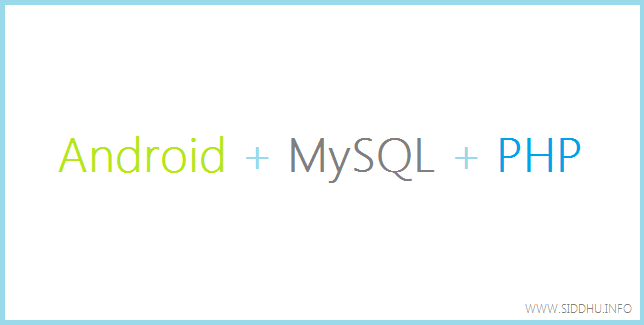 android php mysql