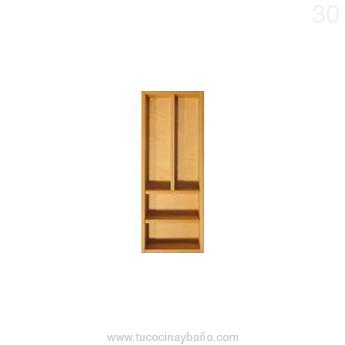 cubertero cajon cocina madera