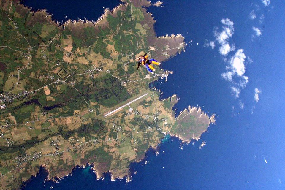 saut en parachute ouessant