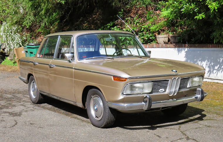 The BMW 2000 VIN 1326213 was manufactured on January 10th, 1967 and delivered on March 6th, 1967 to
