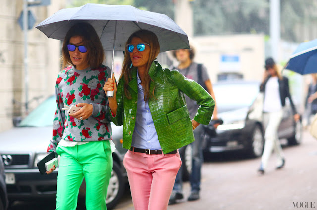 mirrored sunglasses street style