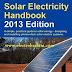 تحميل كتاب  2013 Solar Electricity Handbook لشرح الالواح الشمسية واستخداماتها
