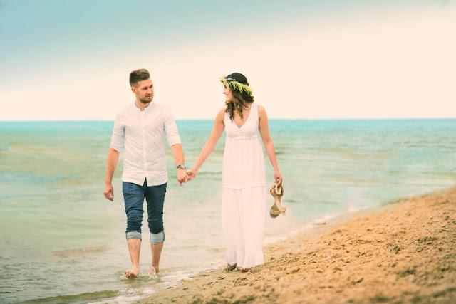 ślub na plaży