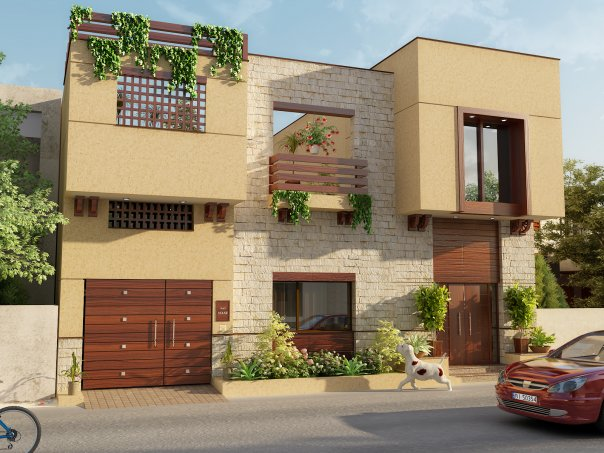 Amazing Photos,: Lahore Pakistan 3D front elevation of House, Banglow ...