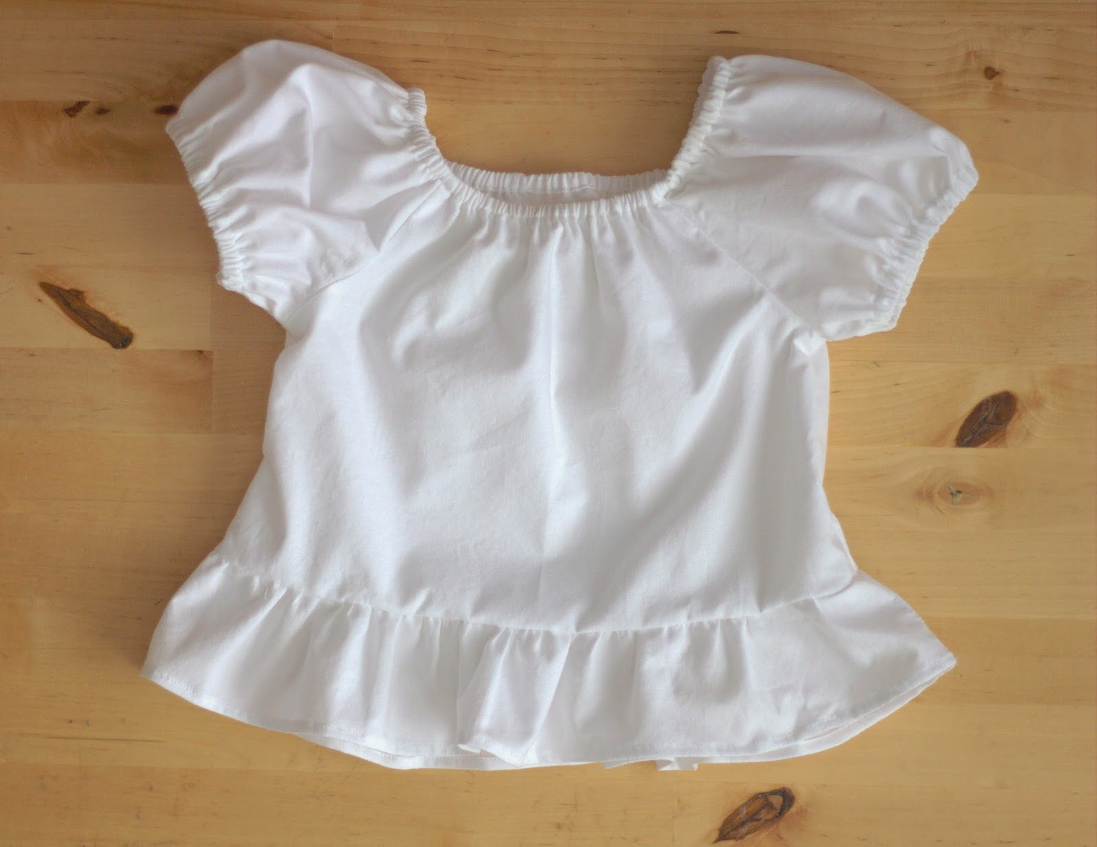Peasant Blouse Pattern Baby 14