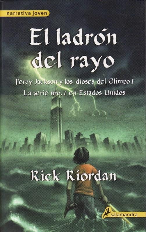 Reseña: El ladrón del rayo de Rick Riordan