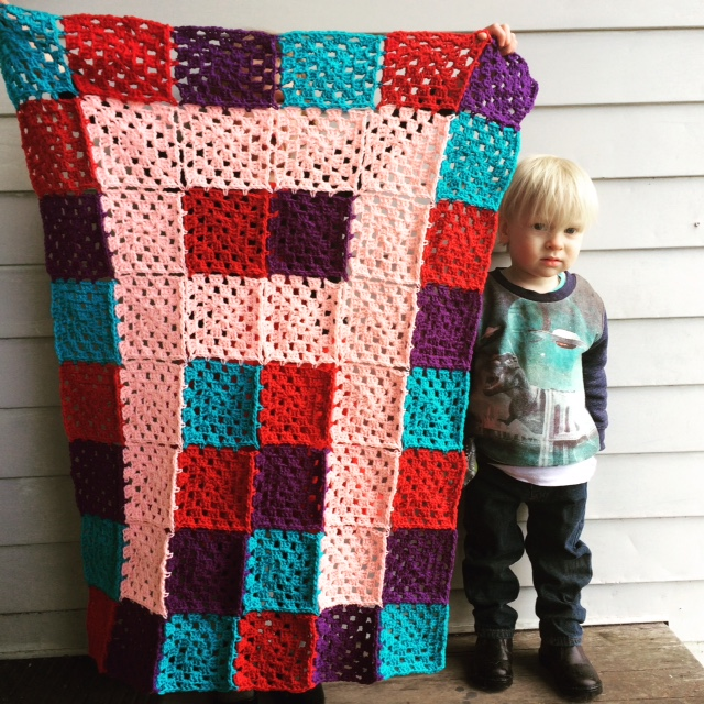 Crocheting Letters Into Blankets : Amelie and Atticus: Crochet Letter Blankets