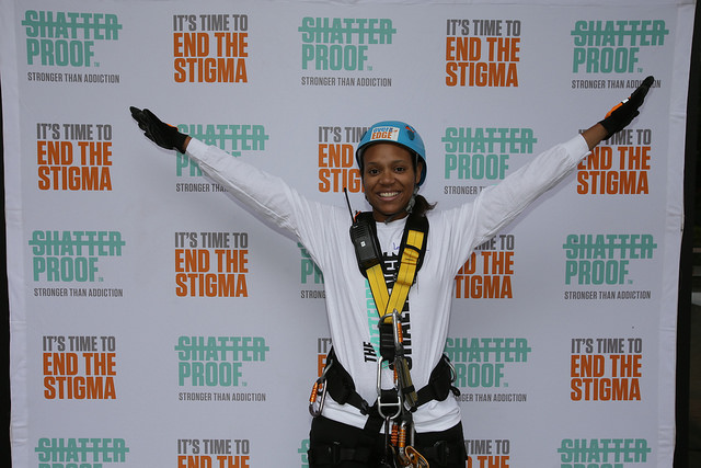 Finished Photo shatterproof rappel event Oct 6